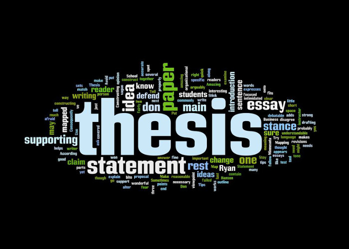 2_5 characteristic features of a thesis statement review of academia research